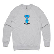 Black and Blue Logo - Unisex Brush Crew